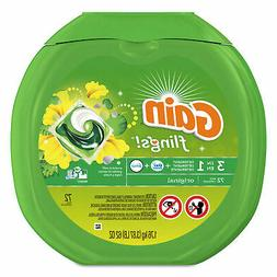 Gain Flings Laundry Detergent Pacs, Original Scent, 72 count