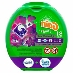 Gain Flings Moonlight Breeze Laundry Detergent Packs 81 Coun
