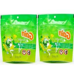 2pk Gain Flings Org Scent 10ct Total Pods 3 in 1 laundry det