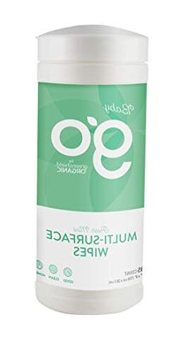 Go by GreenShield Organic, 35 Count Baby Multi-Surface Wipes