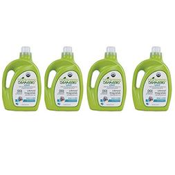 GreenShield Organic Baby Laundry Detergent, Free & Clear, 50