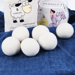 Handy Laundry Sheep Wool Dryer Balls Pack of 6 Premium 100%