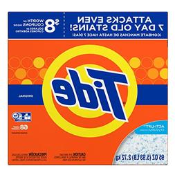 Tide HE Laundry Detergent, Original Scent, Powder, 95 oz Box