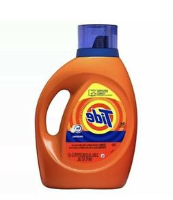 Tide HE Turbo Clean Liquid Laundry Detergent, Original Scent