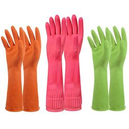 Household Rubber Latex Cleaning Gloves – PEGZOS Reusable K