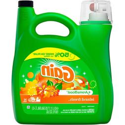 Gain Island Fresh Scent Liquid Laundry Detergent, 150 oz