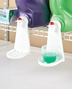 Keep Laundry Detergent from Dripping on Floor w Set of 2 Lau