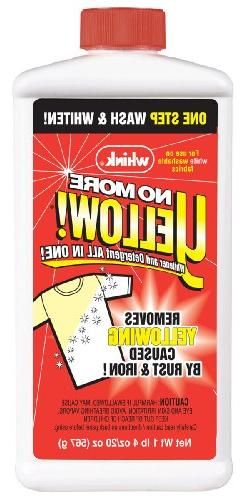 Whink 07221 20 Oz No More Yellow® Stain Remover