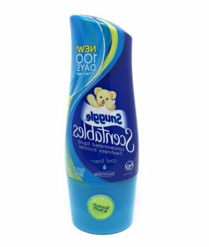 1 scentables concentrated cool linen liquid laundry