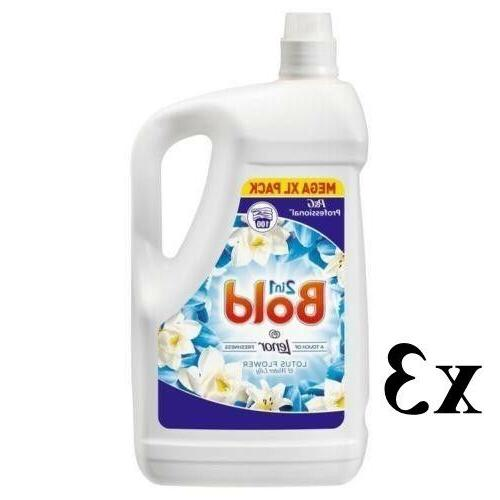 Bold 2 In 1 Washing Liquid Detergent Lotus Flower And Lily M