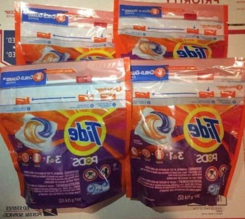 32 pods he laundry detergentes 32 pods