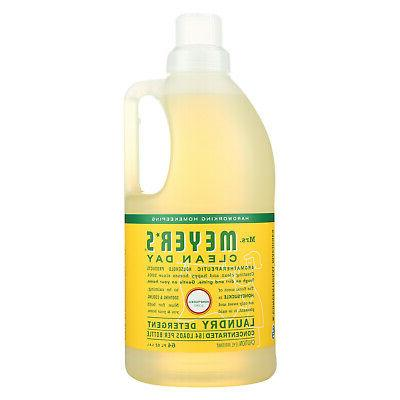 MRS MEYERS 64 Load Laundry Detergent, Honeysuckle, 64.0 Flui