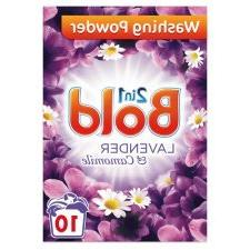 2 PACK - Bold Washing Powder Lavender And Camomile 10 Washes