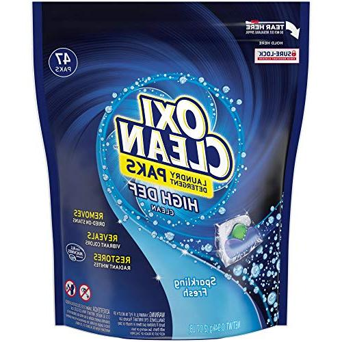 OxiClean High Def Clean Sparkling Fresh Laundry Detergent Pa