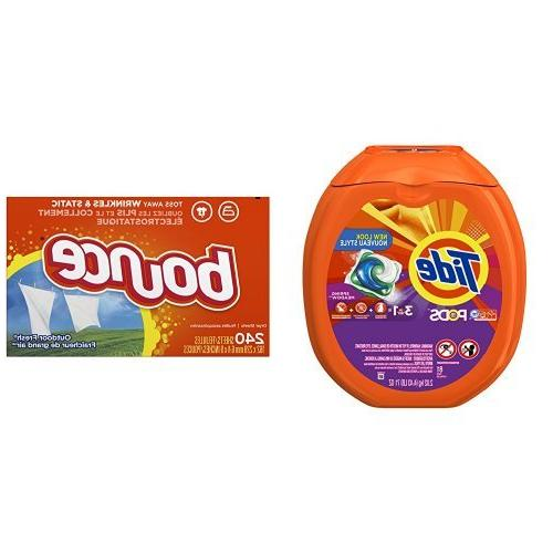 Tide PODS Spring Meadow Scent HE Turbo Laundry Detergent Pac