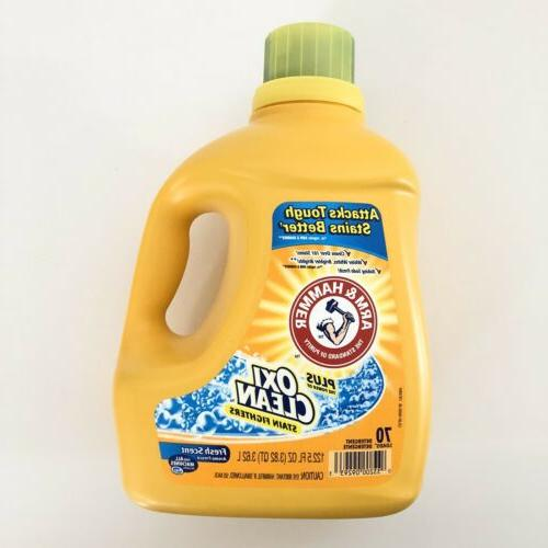 arm and hammer plus oxiclean stain fighters