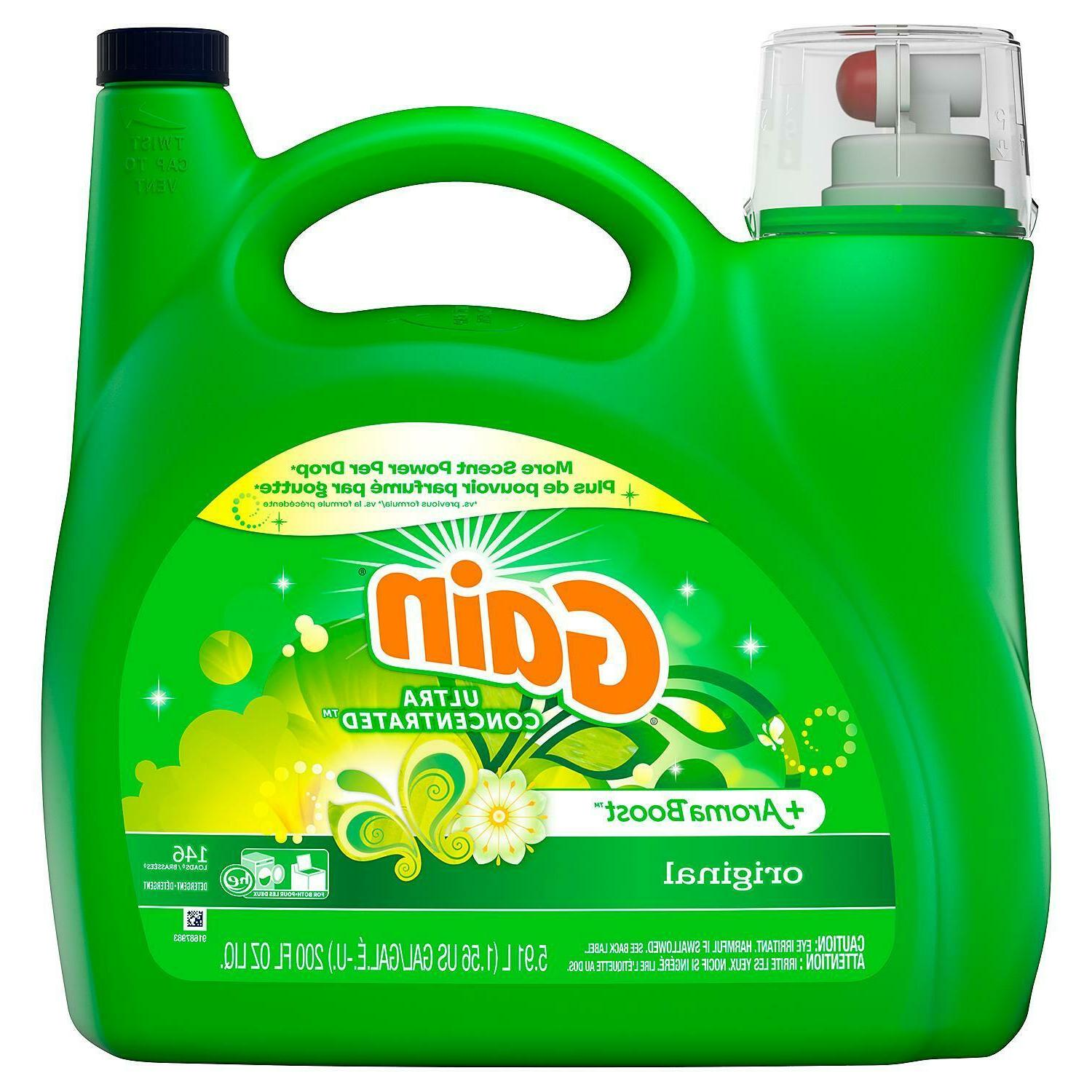 aromaboost ultra concentrated he liquid laundry detergent