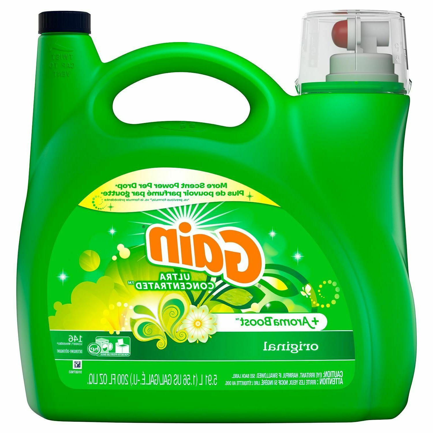 aromaboost ultra concentrated liquid laundry detergent origi