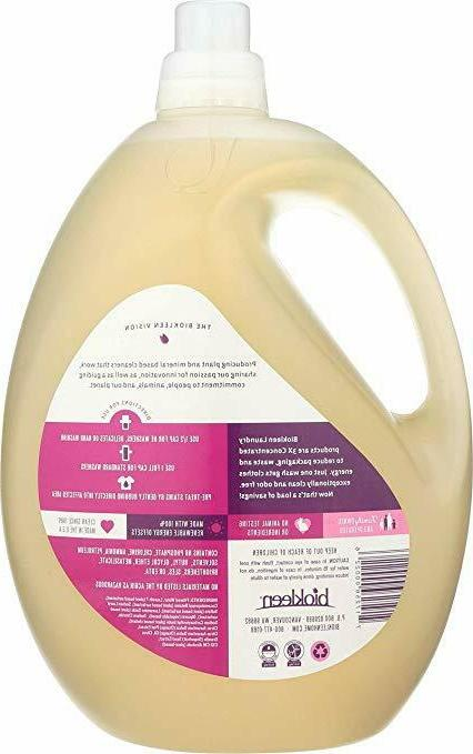 Biokleen Laundry Detergent Liquid, Concentrated, Eco-Friendly, Non-Toxic,