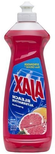 Ajax Bleach Alternative, Dish Liquid, Grapefruit, 12.6 Fluid