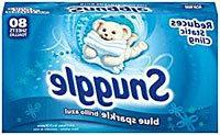 Snuggle Dryer Sheets, 80 Count