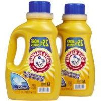 Arm & Hammer Dual HE Liquid Laundry Detergent, Clean Burst,