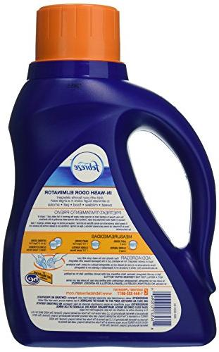 Febreze Fabric Odor Detergent Fresh Scent, 50 Fluid Ounce