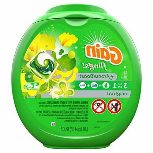 flings 3 in 1 laundry detergent pacs