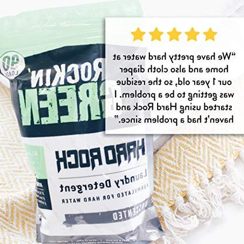 Rockin' Powder for Hard Water, for Cloth Diapers, Unscented,