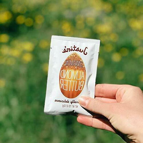 Justin's Cinnamon Almond Squeeze Packs, Non-GMO, Responsibly