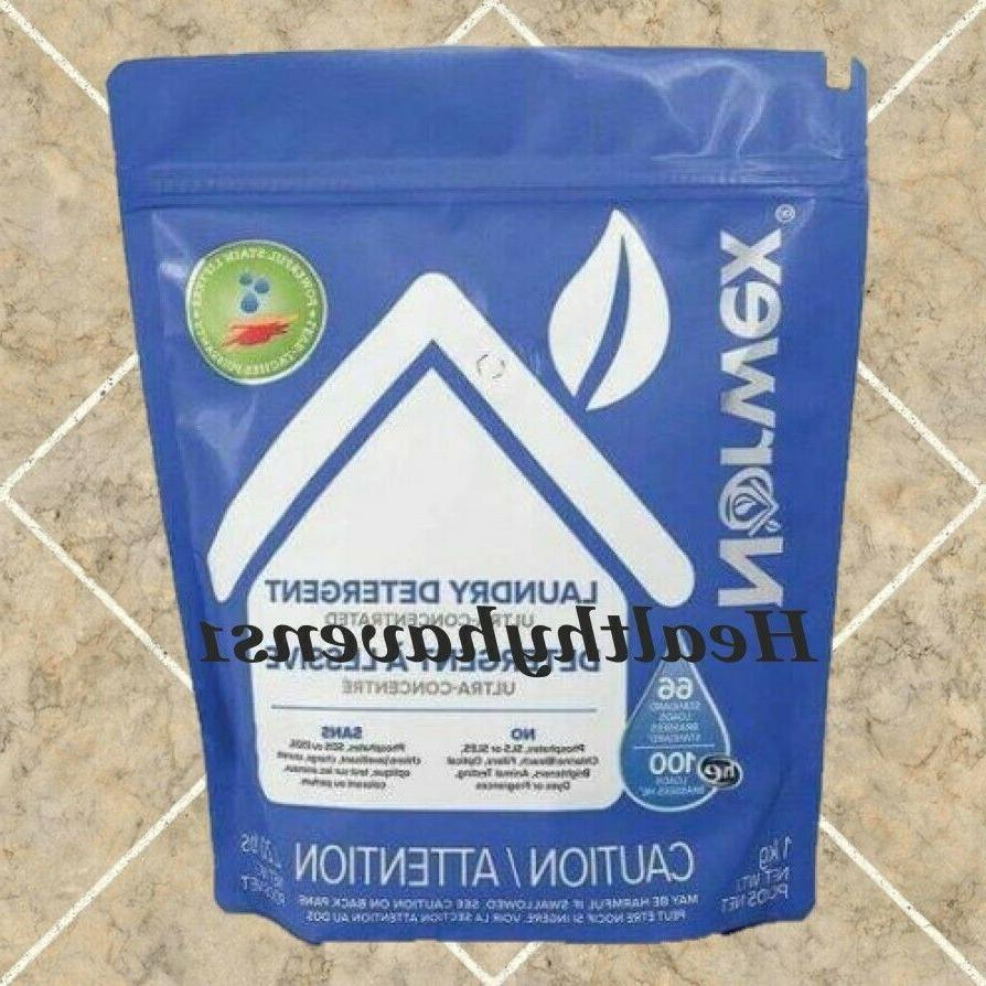 laundry detergent 2 bags for a total