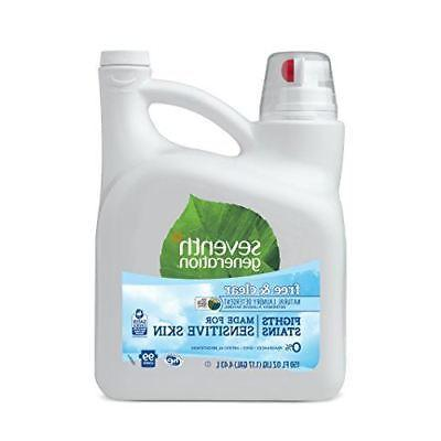 laundry detergent free and clear 150 oz