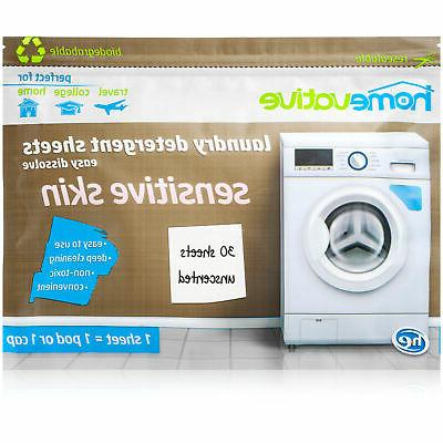 Homevative Laundry Detergent Unscented, Sensitive count