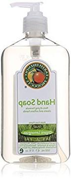 Earth Friendly Products Lemongrass Hand Soap, 17 oz