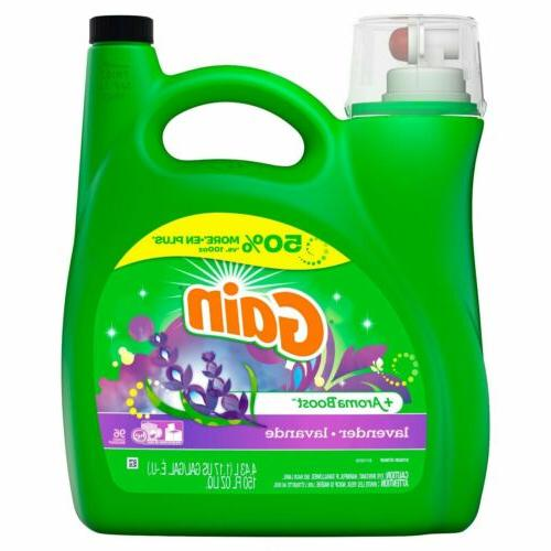 GAIN LIQUID DETERGENT + BOOST 150 loads