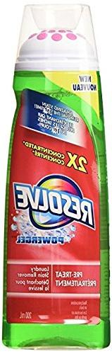 Resolve Max Power Pre-Treat Laundry Stain Remover and Maxpow