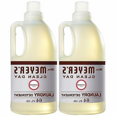 mrs meyers clean day laundry detergent lavender