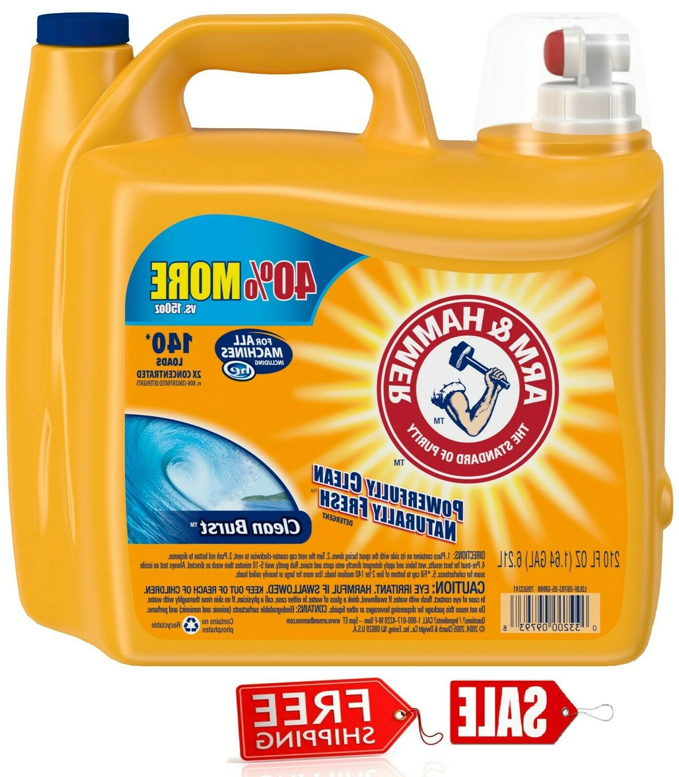 new arm and hammer clean burst 140