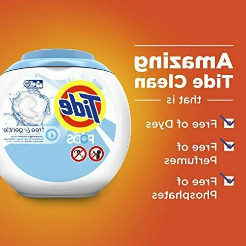 Tide Laundry Detergent Tub, Free and Count