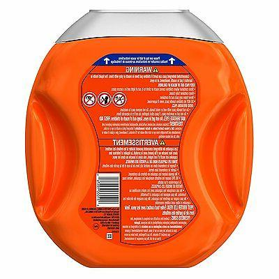Tide Febreze Odor Defense Laundry Detergent Pacs, Active Fresh