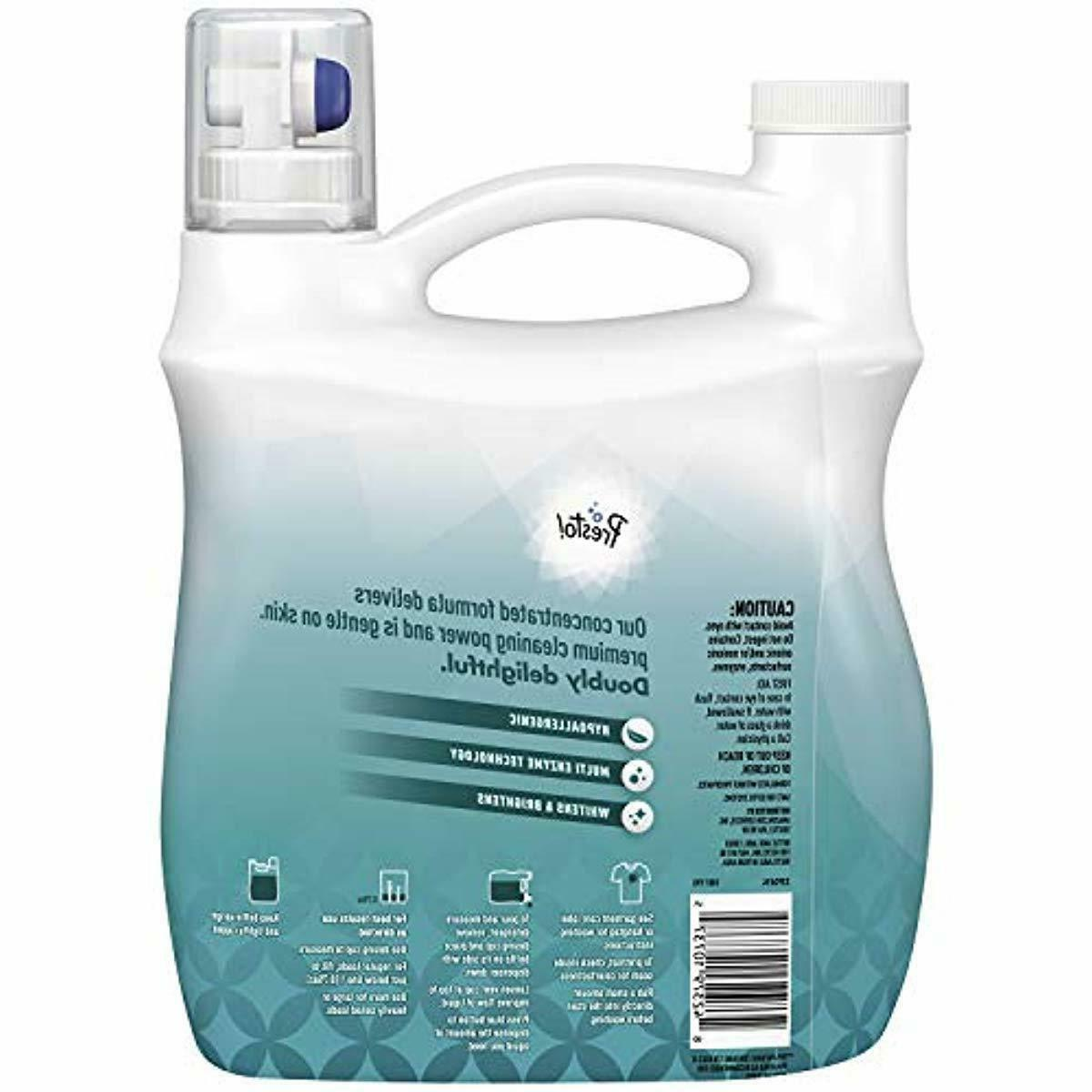 Presto! Concentrated Detergent, Free Clear, 128