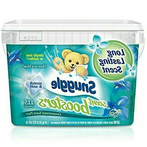 Snuggle Laundry Scent Boosters Concentrated Scent Pacs Blue