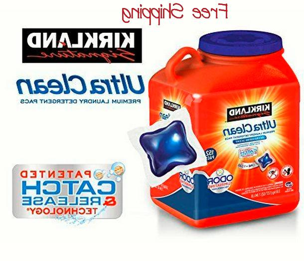 ultra clean he laundry detergent pacs 152