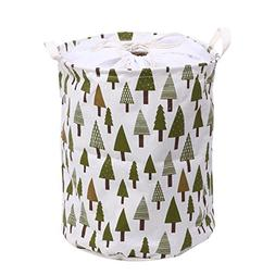 Laundry Container - 3 Style Linen Dirty Barrel Folding Stora