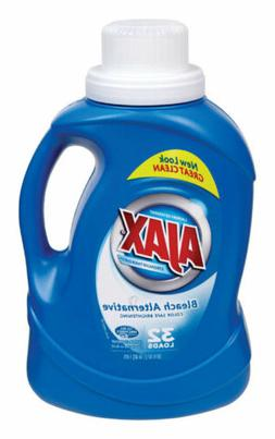 Ajax Laundry Detergent, Bleach Alternative, 50 Ounce