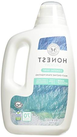 Honest Laundry Detergent, Coastal Surf, 70 fl oz, Pack of 2