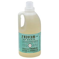 Mrs. Meyer's Clean Day Laundry Detergent, Basil, 64 oz, 64 l