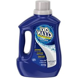 OxiClean HD Laundry Detergent Free & Clear 60 oz - 40 loads.