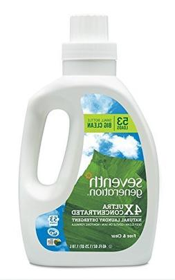 Seventh Generation Natural Laundry Detergent Free and Clear