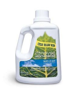 Seventh Generation Natural Laundry Detergent, Free & Clear,